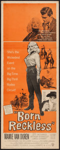 "Movie Posters:Bad Girl, Born Reckless (Warner Brothers, 1959). Insert (14"" X 36""). BadGirl.. ..."