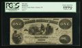 Obsoletes By State:Indiana, Lebanon, IN- Boone County Bank $1 Oct. 1, 1860. ...