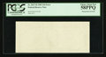 Error Notes:Blank Reverse (100%), Fr. 2027-H $10 1985 Federal Reserve Note. PCGS Choice About New 58PPQ.. ...