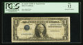Error Notes:Inverted Third Printings, Fr. 1613N $1 1935D Narrow Silver Certificate. PCGS Fine 12.. ...