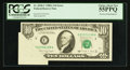 Error Notes:Foldovers, Fr. 2028-C $10 1988A Federal Reserve Note. PCGS Choice About New55PPQ.. ...