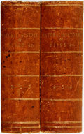 Books:Natural History Books & Prints, [G.L.L. Buffon]. Natural History of Birds, Fish, Insects, and Reptiles. London: Printed for the proprietor, 1808. Em... (Total: 2 Items)