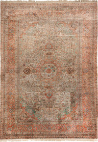 A WOOL PERSIAN-STYLE CARPET, 20th Century 24 feet x 16 feet  WEIDER HEALTH AND FITNESS COLLECTION
