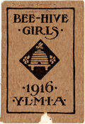 Books:Americana & American History, [Americana]. Bee-Hive Girls. Salt Lake City: The GeneralBoard of the Young Ladies'..., 1916. First edition. Octavo....