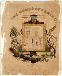[Cartoons, Americana]. The Comus Offering, Containing Humorous Scraps and Diverting Comicalities. <