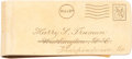 Political:Presidential Relics, Harry S Truman: Personally Owned Money Clip....