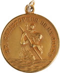 Political:Presidential Relics, Harry S Truman: Personally Owned St. Christopher Medal Charm....