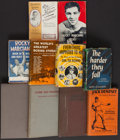 Boxing Collectibles:Memorabilia, Vintage Boxing Hardcover Books Lot of 9....