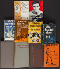 Vintage Boxing Hardcover Books Lot of 9
