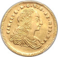 Italy:Sicily, Italy: Sicily. Carlo gold 2 Oncia 1754-PN AU Details (Scratch)PCGS,...