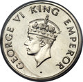 India:British India, India: British India. George VI Set of 3 Coins 1947-(b),... (Total: 3 coins)