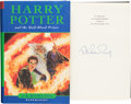 Books:Children's Books, J.K. Rowling. Harry Potter and the Half-Blood Prince.London: Bloomsbury, [2005]. First trade edition. Signed by R...