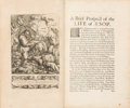 Books:Children's Books, [Aesop]. Francis Barlow. Aesop's Fables, With His Life:In English, French and Latin. London: William Godbid fo...