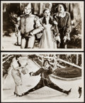"""Movie Posters:Fantasy, The Wizard of Oz (MGM). Reprint Photos (2) (8.5"""" X 14""""). Fantasy.. ... (Total: 2 Items)"""