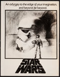"Movie Posters:Science Fiction, Star Wars (20th Century Fox, 1977). Advertising Concept Art Sheet(11"" X 14""). Science Fiction.. ..."