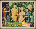 "Movie Posters:Science Fiction, Queen of Outer Space (Allied Artists, 1958). Lobby Card (11"" X 14""). Science Fiction.. ..."