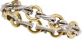 GOLD, STERLING SILVER BRACELET, PALOMA PICASSO FOR TIFFANY & CO