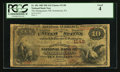 National Bank Notes:Pennsylvania, Norristown, PA - $10 1882 Brown Back Fr. 481 The Montgomery NB Ch.# 1148. ...