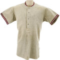 Baseball Collectibles:Uniforms, 1935 Chuck Klein Game Worn Jersey. Chicago Cubs fans have been trained through decades of crushing disappointment never to ...