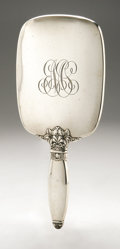 Silver Holloware, American:Mirrors and Vanity-related , An American Silver Hand Mirror. Watson Co., Attleboro, MA, EarlyTwentieth Century. Monogram to the reverse EMS, h...