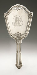 Silver Holloware, American:Mirrors and Vanity-related , An American Silver Hand Mirror. Foster & Bailey, Providence,RI, Late Nineteenth Century. Monogram to the reverse AB...