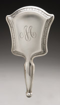 Silver Holloware, American:Mirrors and Vanity-related , An American Silver Hand Mirror. R. Blackington & Co., NorthAttleboro, MA, Late Nineteenth Century. Script monogram to...