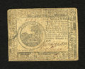 Colonial Notes:Continental Congress Issues, Continental Currency February 17, 1776 $6 Very Fine. A verypleasing example for the grade that is very well margined with b...
