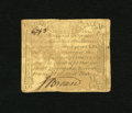 Colonial Notes:Massachusetts, Massachusetts October 16, 1778 1s/6d Fine. This is a rare note inany grade with this example sporting a moisture stain from...