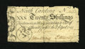 Colonial Notes:North Carolina, North Carolina April 4, 1748 20s Very Fine....