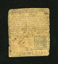 Colonial Notes:Pennsylvania, Pennsylvania March 10, 1769 1s Very Good. This example has beenbacked....