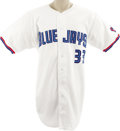Baseball Collectibles:Uniforms, 1999 David Wells Game Worn Jersey. Direct from the veteran lefty with his personal letter of provenance comes this beautifu...
