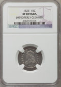 Bust Dimes, 1825 10C -- Improperly Cleaned -- NGC Details. XF. NGC Census:(1/71). PCGS Population (6/79). Mintage: 410,000. Numismedia...