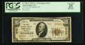 National Bank Notes:Nebraska, Imperial, NE - $10 1929 Ty. 2 The First NB Ch. # 9762. ...