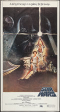 "Movie Posters:Science Fiction, Star Wars (20th Century Fox, 1977). Three Sheet (41"" X 77"").Science Fiction.. ..."