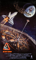 "Movie Posters:Documentary, Space Shuttle America - The Next Century (DreamQuest, 1994). Six Flags Theme Park Poster (25"" X 40""). Documentary.. ..."