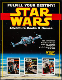 "Star Wars: The Roleplaying Game & Other Lot (West End Games, 1987). Poster (17"" X 22"") & Comme..."