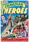 Golden Age (1938-1955):Non-Fiction, Canadian Heroes V2#3 (Educational Projects Inc., 1943) Condition:VG+....