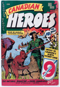 Golden Age (1938-1955):Non-Fiction, Canadian Heroes V5#6 (Educational Projects Inc., 1945) Condition:FN-....
