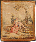 Decorative Arts, Continental:Other , A CONTINENTAL WALL TAPESTRY, 19th century. 80 inches high x 69inches wide (203.2 x 175.3 cm). ...
