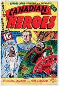 Golden Age (1938-1955):Non-Fiction, Canadian Heroes V2#2 (Educational Projects Inc., 1943) Condition:VG-....
