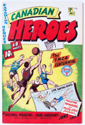 Golden Age (1938-1955):Non-Fiction, Canadian Heroes V4#1 (Educational Projects Inc., 1944) Condition:FN+....