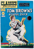Golden Age (1938-1955):Classics Illustrated, Classics Illustrated #45 Tom Brown's School Days - OriginalEdition(Gilberton, 1948) Condition: VG....
