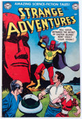 Golden Age (1938-1955):Science Fiction, Strange Adventures #16 (DC, 1952) Condition: VG....