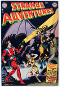 Golden Age (1938-1955):Science Fiction, Strange Adventures #18 (DC, 1952) Condition: FN-....