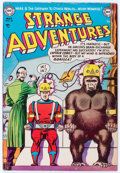 Golden Age (1938-1955):Science Fiction, Strange Adventures #32 (DC, 1953) Condition: VG....