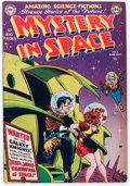 Golden Age (1938-1955):Science Fiction, Mystery in Space #2 (DC, 1951) Condition: FN....