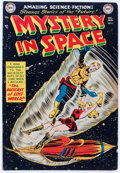 Golden Age (1938-1955):Science Fiction, Mystery in Space #5 (DC, 1952) Condition: VG+....