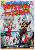 Golden Age (1938-1955):Science Fiction, Mystery in Space #9 (DC, 1952) Condition: VG....