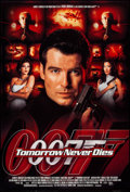 "Movie Posters:James Bond, Tomorrow Never Dies (United Artists, 1997). One Sheets (2) (27"" X40"") DS Regular & Advance. James Bond.. ... (Total: 2 Items)"