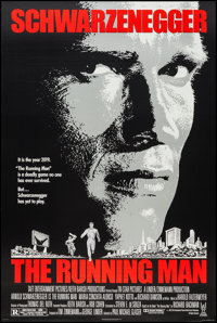"The Running Man & Others Lot (Tri-Star, 1987). One Sheets (3) (27"" X 40"" & 27"" X 40.25&qu..."